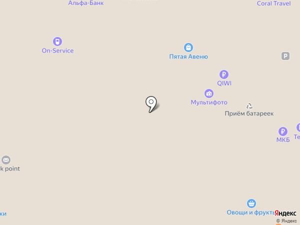 Dry & Go на карте Москвы