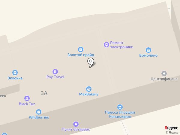 Магазин печатной продукции на карте Лобни