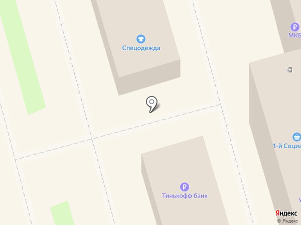Рублёвский на карте Лобни