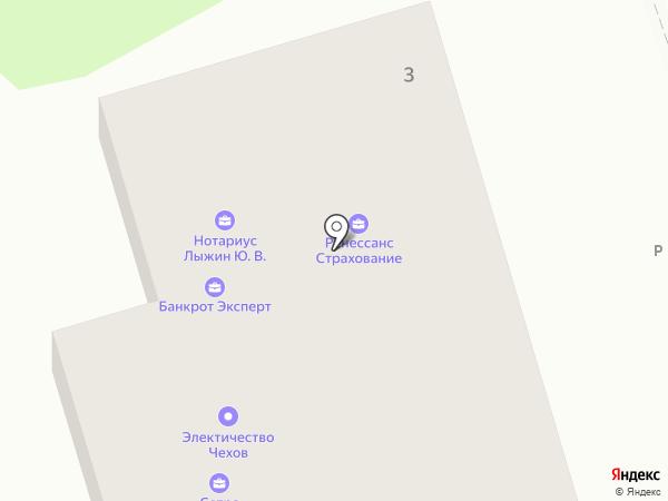 Оптово-розничный магазин на карте Чехова