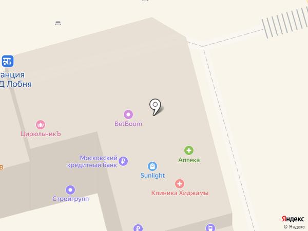 Сотовик на карте Лобни