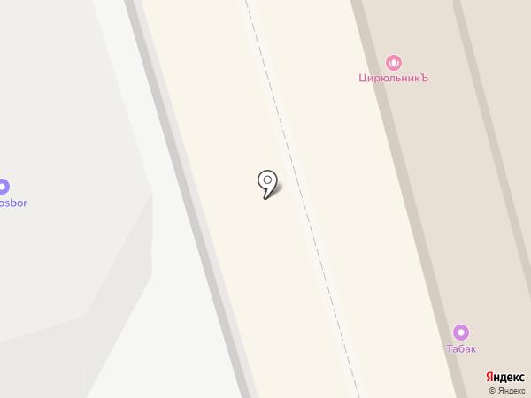 Магазин головных уборов на карте Лобни