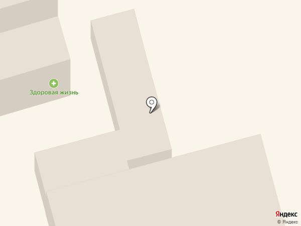 Мясной магазин на ул. Маяковского на карте Лобни