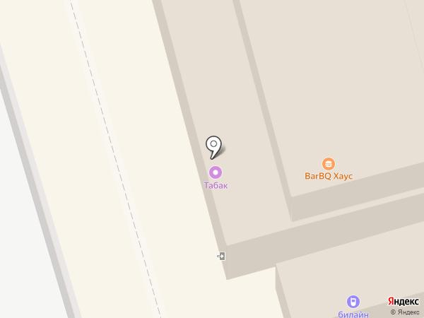 Магазин табачной продукции на карте Лобни