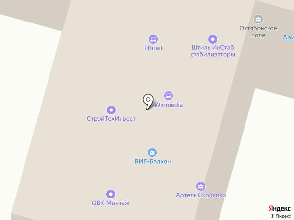 КС Витязь на карте Москвы
