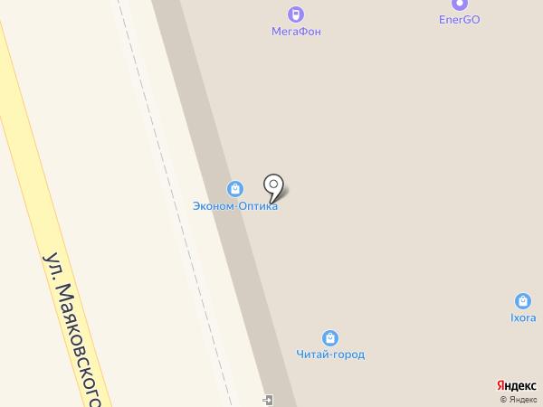 Бижулэнд на карте Лобни