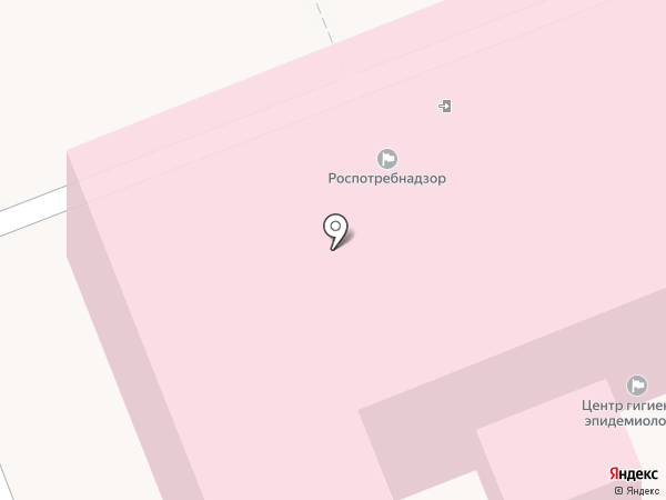 Управление Федеральной службы по надзору в сфере защиты прав потребителей и благополучия человека по Московской области на карте Лобни