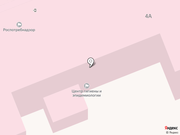 Центр гигиены и эпидемиологии в Московской области на карте Лобни