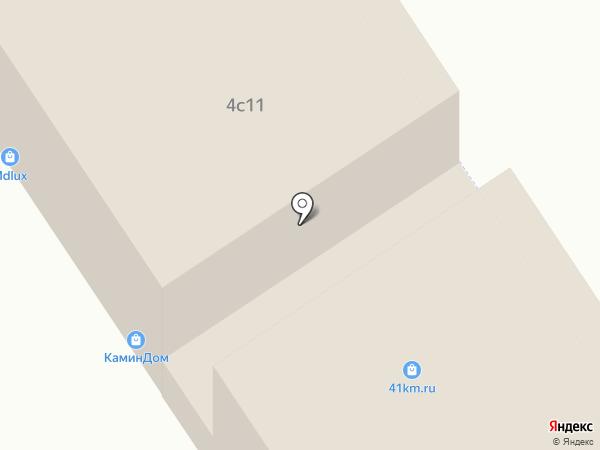 KaminDOM на карте Москвы