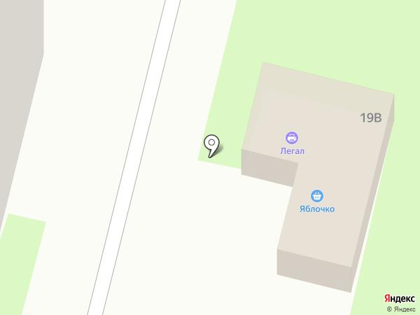 Радуга на карте Лобни