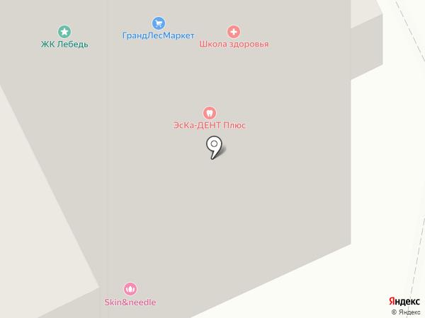 Мой авто на карте Москвы