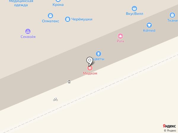 НМС на карте Москвы