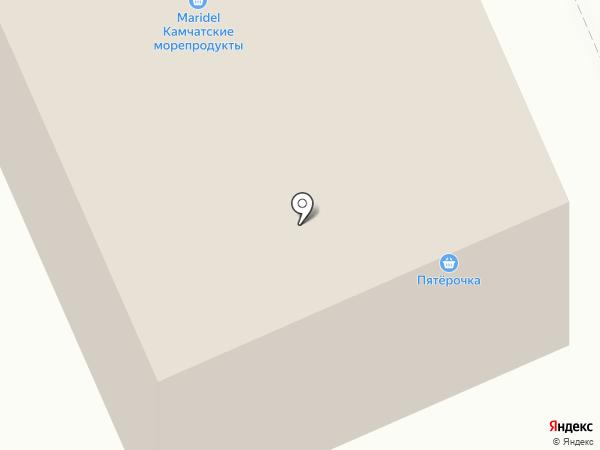 Легкое путешествие на карте Москвы
