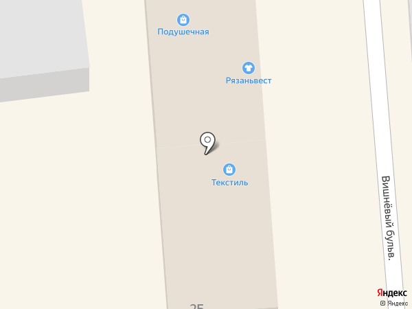 Подушечная на карте Чехова