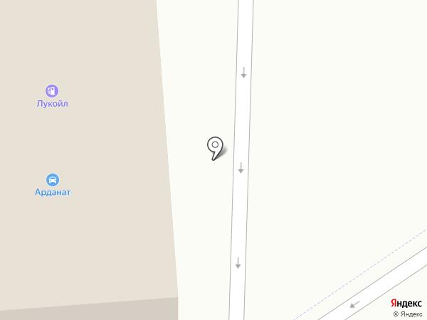 АЗС ЛУКОЙЛ на карте Москвы