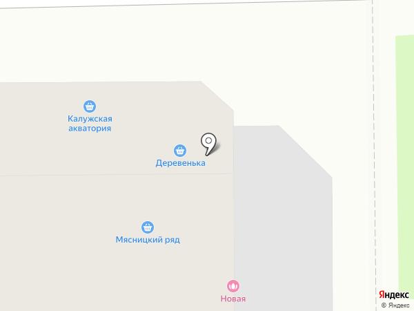 Мясницкий ряд на карте Долгопрудного