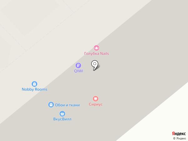 Nobby Rooms на карте Москвы