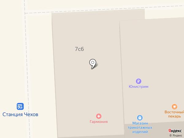 Связной на карте Чехова