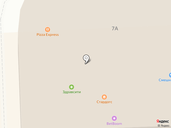 Pizza 24 на карте Чехова