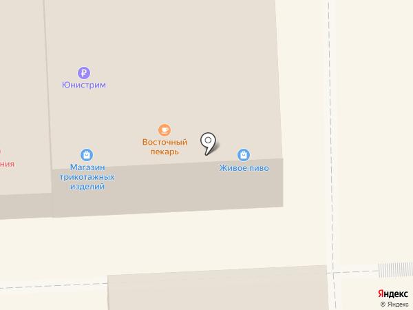 Восточный пекарь на карте Чехова