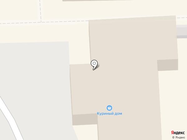 Куриный дом на карте Чехова