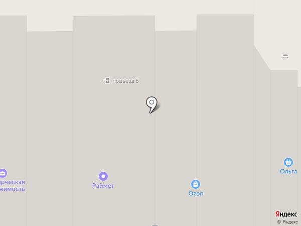Домовёнок на карте Долгопрудного