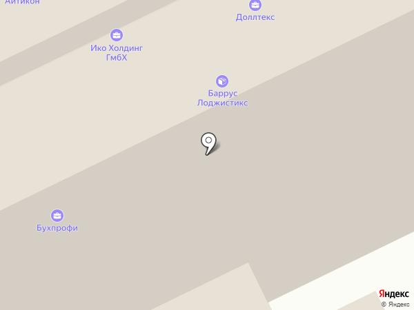 ЮниФрейт на карте Москвы