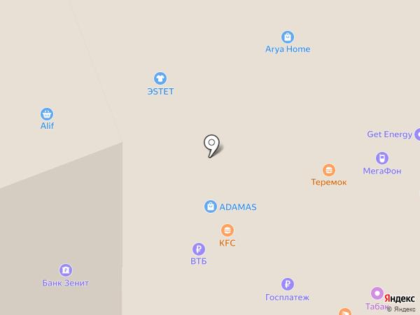 Эстет на карте Москвы