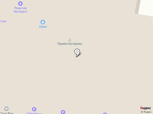 Сеть мастерских по ремонту часов на карте Москвы