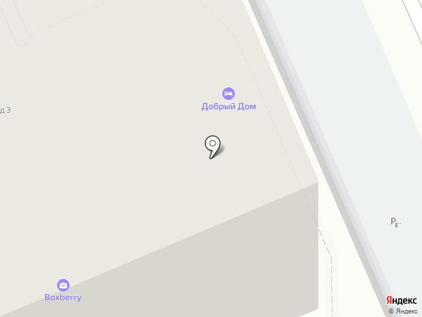 Сити-Голд на карте Москвы