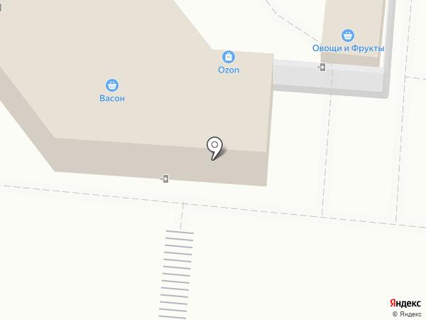 Васон, ЗАО на карте Долгопрудного