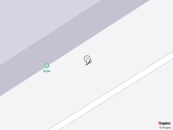 кОм на карте Москвы