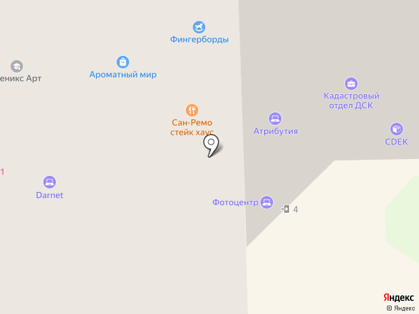 Профиль на карте Долгопрудного