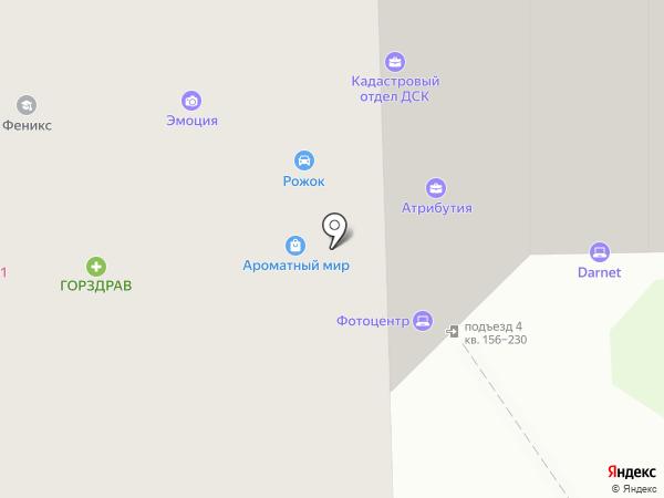 Гламур на карте Долгопрудного