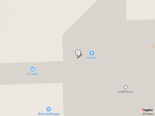 Магазин трикотаж и текстиля на карте Долгопрудного