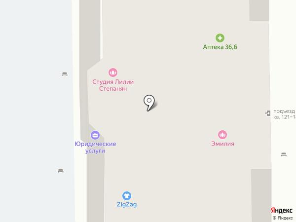 Магазин товаров для рукоделия на карте Долгопрудного