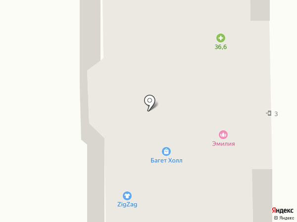 НиКи на карте Долгопрудного