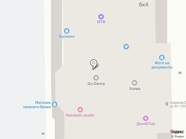 ZigZag на карте Долгопрудного