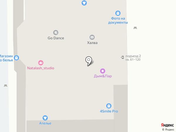 Ортонорм на карте Долгопрудного