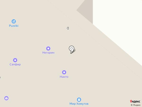 Нанто на карте Москвы