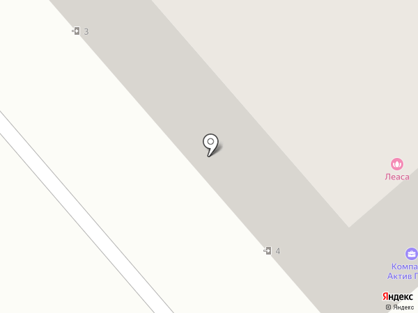 Гавчик на карте Щёкино