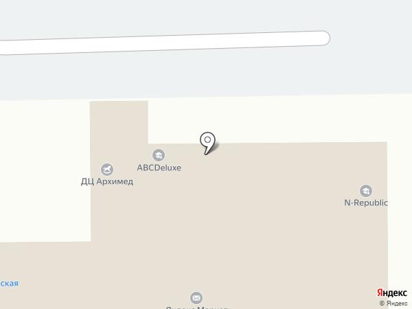 Палитра на карте Долгопрудного
