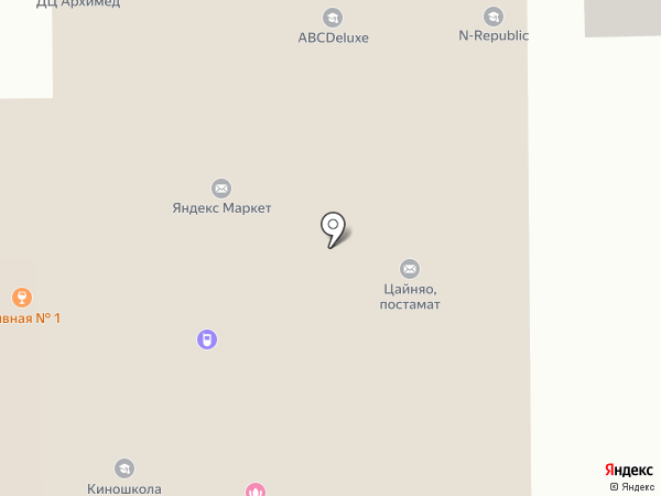 Иголочка на карте Долгопрудного