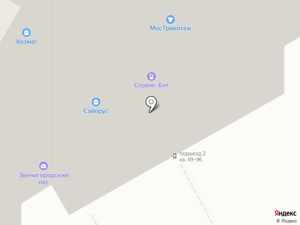 Лиана на карте Москвы