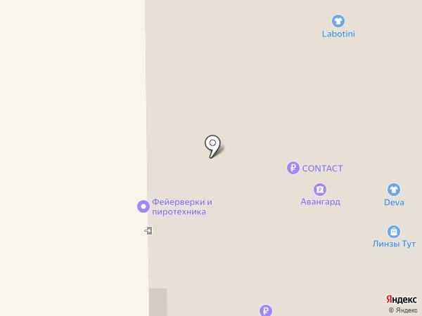 Фитбар на карте Долгопрудного