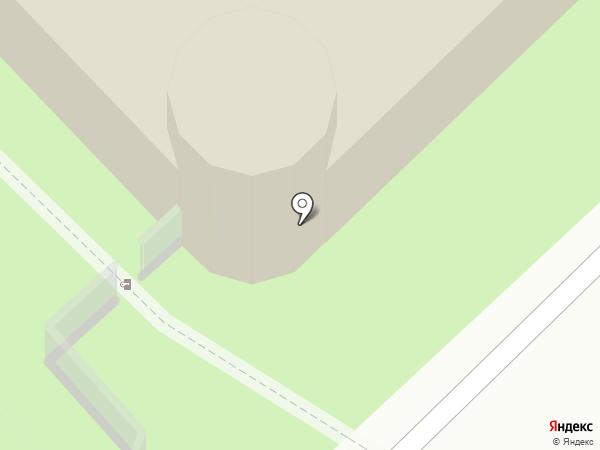 Буревестник на карте Долгопрудного