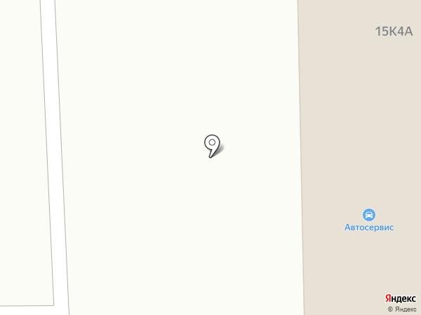 СТО на карте Первомайского