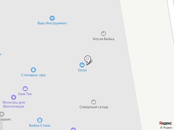 МультиМебель на карте Долгопрудного