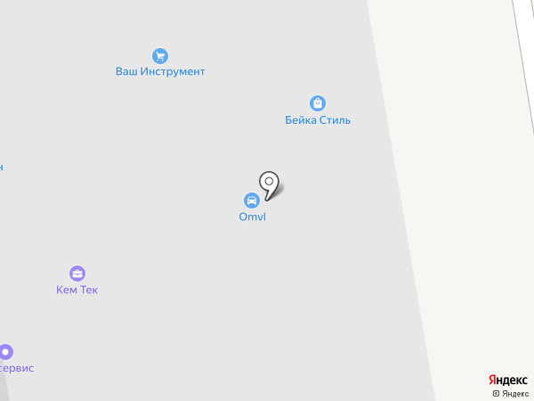 KSI на карте Долгопрудного