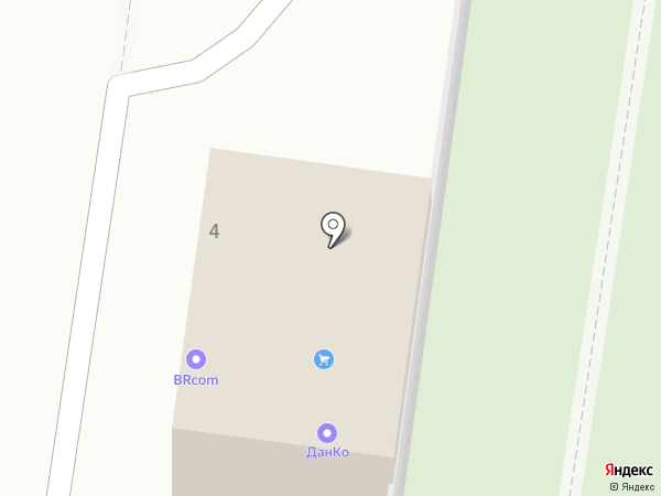 ДанКо на карте Долгопрудного